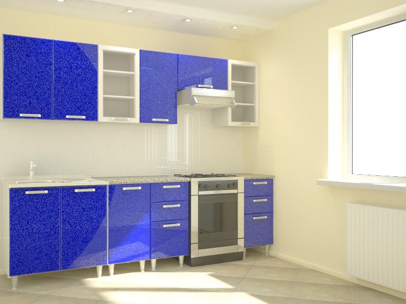Кухня синего цвета фото дизайн